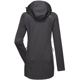 PYUA Spate S Giacca in pile Donna, grey melange